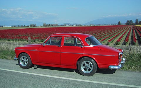 Red Hot Volvo 122