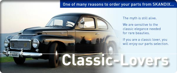 One of many reasons to order your parts from SKANDIX ... Classic-Lovers